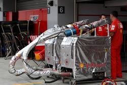 Scuderia Ferrari, fuel rigs