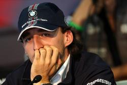 FIA press conference: Robert Kubica,  BMW Sauber F1 Team