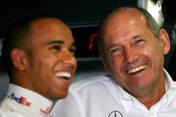 Ron Dennis, McLaren, Team Principal, Chairman, Lewis Hamilton, McLaren Mercedes