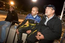 Marco Andretti, Tony Kanaan and Kim Green
