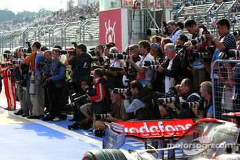 Photographers at Parc Ferme