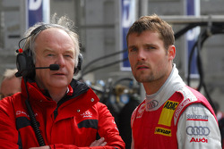 Martin Tomczyk, Audi Sport Team Abt Sportsline and his Race Engineer Dave Benbow
