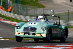 Mark Ellis, and Conrad Bos, MG MGA Twin Cam, 1958