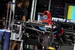 The car of Sebastian Vettel, Scuderia Toro Rosso