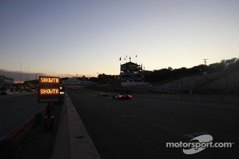 ALMS sunset action