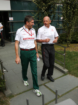Nick Fry, Honda Racing F1 Team, Chief Executive Officer, Ron Dennis, McLaren, Team Principal, Chairman