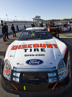 The Discount Tire Ford sits on pit road