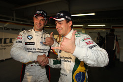 Jorg Muller, BMW Team Germany, BMW 320si and Augusto Farfus, BMW Team Germany, BMW 320si