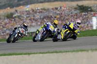 MotoGP Foto - Colin Edwards, Valentino Rossi e Andrea Dovizioso