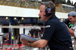 Team manager Jonathan Wheatley