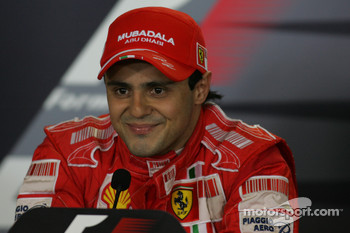 FIA post-qualifying press conference: pole winner Felipe Massa