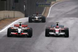 Giancarlo Fisichella, Force India F1 Team, Timo Glock, Toyota F1 Team