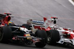Sébastien Bourdais, Scuderia Toro Rosso, Jarno Trulli, Toyota F1 Team