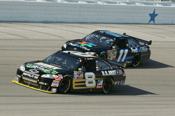 Mark Martin and Denny Hamlin