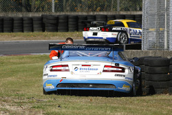 #33 Jetalliance Racing Aston Martin DB9: Karl Wendlinger, Ryan Sharp in trouble