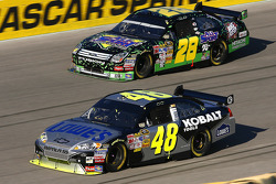 Jimmie Johnson and Travis Kvapil