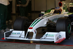 Alexander Wurz, Test Driver, Honda Racing F1 Team, running a 2009 interim front wing