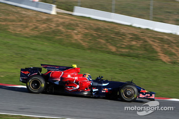 Sebastien Buemi, Test Driver, Red Bull Racing