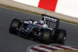 Nico Hulkenberg, Test Driver, WilliamsF1 Team,  interim 2009 car