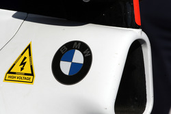 Christian Klien, Test Driver, BMW Sauber F1 Team, Stickers for KERS
