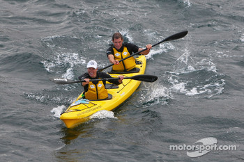 Port Arthur, Australia: Jarad Kohlar and Deanna Blegg of Team Keen in action
