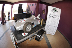 Replica of Juan Manuel Fangio's Mercedes W196