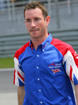 Danny Watts, driver of A1 team Great Britain, Sunday Feature Pre-race, 23Nov2008