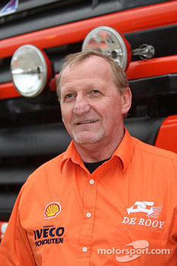 Team de Rooy: Yvo Geusens, co-driver rally truck #518