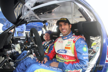 Khalid Al Qassimi and Michael Orr, Ford World Rally Team Ford Focus RS WRC