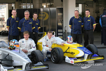 Simon Moss, Motaworld Racing and Ollie Millroy, Motaworld Racing photoshoot