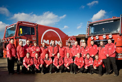 MAN Rally Team: team photoshoot