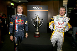 David Coulthard and Jason Plato