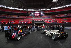 Red Bull Racing F1 cars are admired by fans