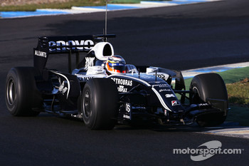 Nico Hulkenberg, Test Driver, WilliamsF1 Team