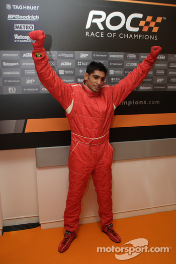 Amir Kahn winner celebrity race