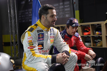 Yvan Muller and Sbastien Loeb