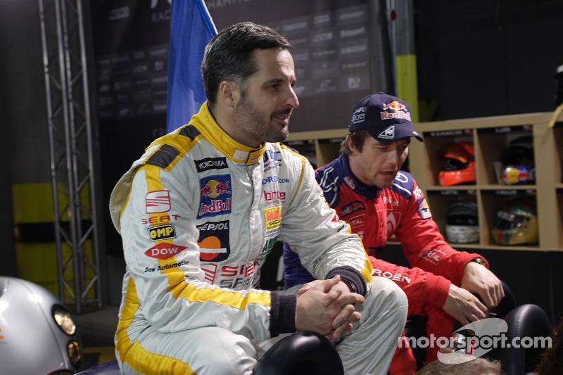 Yvan Muller and Sébastien Loeb