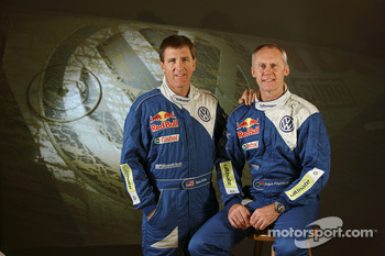 Volkswagen Motorsport: driver Mark Miller and co-driver Ralph Pitchford