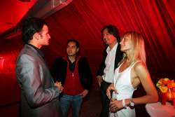 Vitantonio Liuzzi Force India F1 Third Driver at the Fly Kingfisher Boat Party