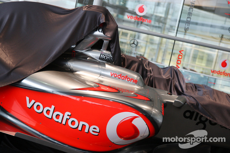 Unveiling of the new McLaren Mercedes MP4-24