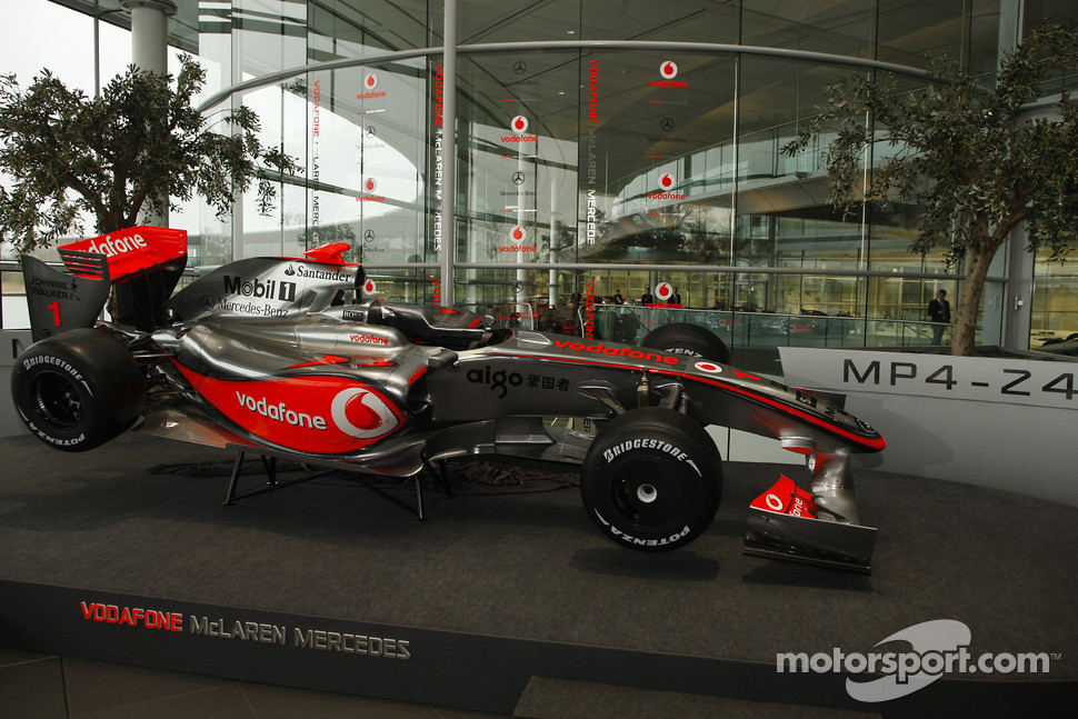 The new McLaren Mercedes MP4-24