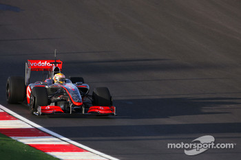 Lewis Hamilton, McLaren Mercedes, in the new MP4-24