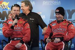 GAINSCO Bob Stallings Racing press conference: Alex Gurney, Bob Stallings and Jon Fogarty