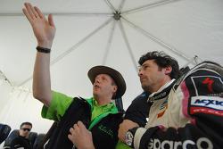 Eric Van De Poele and Patrick Dempsey