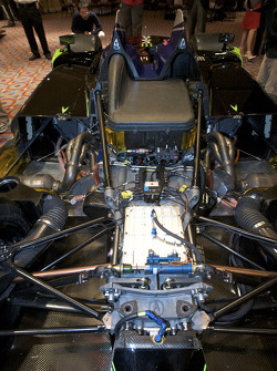 #9 Patron Highcroft Racing Acura ARX 02a Acura engine and transmission
