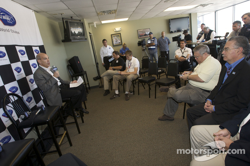 American Le Mans Series press conference: American Le Mans Series CEO Scott Atherton
