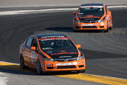 #75 Compass360 Racing Honda Civic SI: Bo Roach, Peter Schwartzott