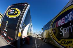 NASCAR Sprint Cup Series haulers