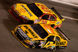Matt Kenseth and Kevin Harvick
