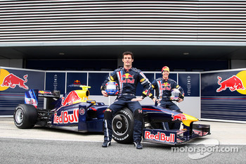 Launch of the RB5, Mark Webber, Red Bull Racing, Sebastian Vettel, Red Bull Racing